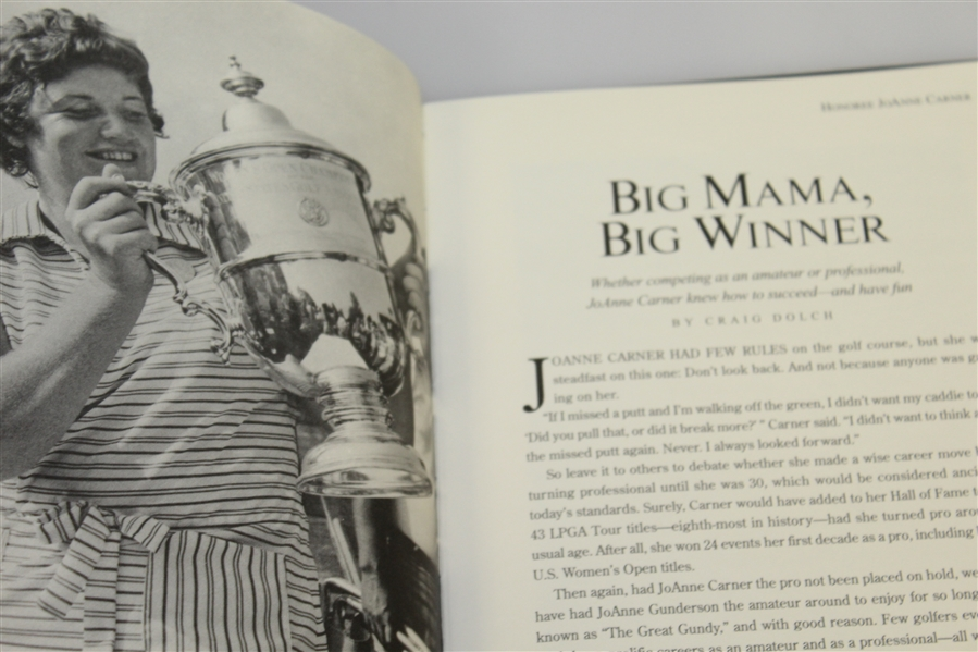 2009 The Memorial Tournament Ltd. Ed. 186/250 Honoree Book - Tiger Win