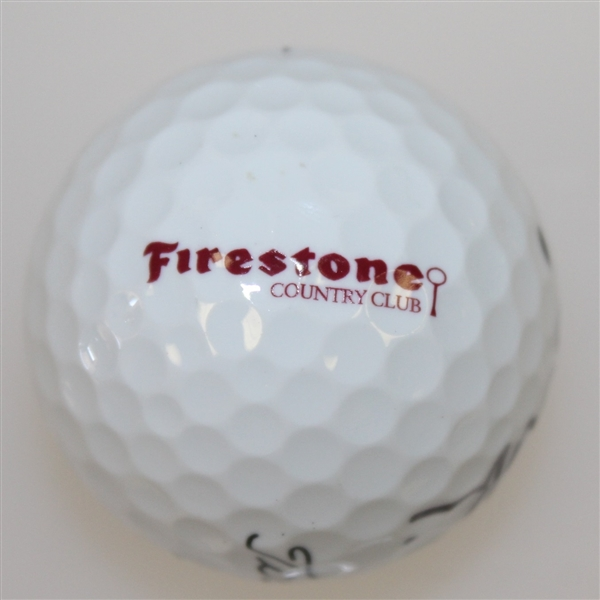 Nick Price Signed Firestone Country Club Logo Golf Ball JSA ALOA