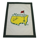 Arnold Palmer Signed Undated Masters Tournament Garden Flag JSA ALOA