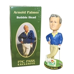 Arnold Palmer Signed PNC Park Bobble Head Box with Bobble Head JSA #Q49250