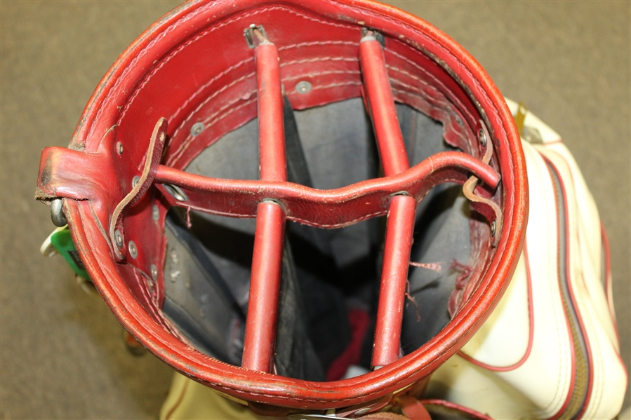 Sam Snead Match Used Wilson Golf Bag - From Snead Family