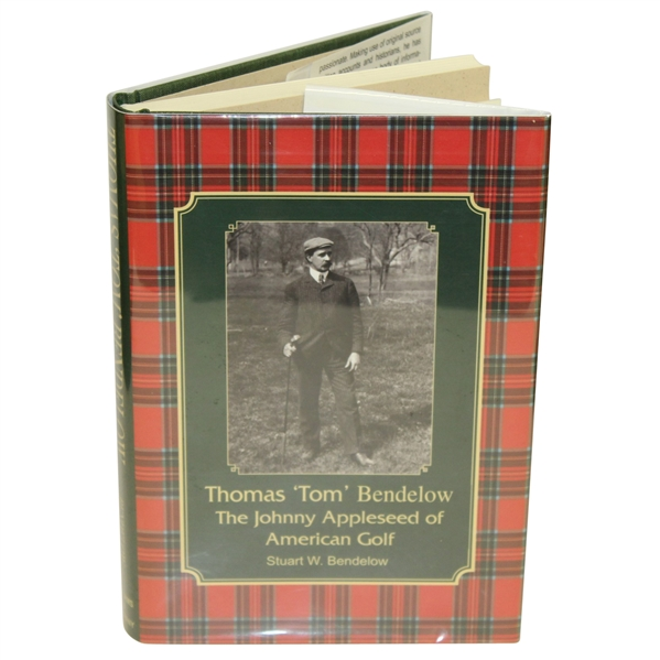 'Thomas Tom Bendelow Johnny Appleseed of American Golf' Book Signed by Author