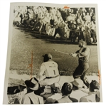 Arnold Palmer April 3, 1959 Original Masters Tournament Press Photo