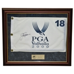 Jack Nicklaus Signed Ltd Ed. 2000 PGA Championship Valhalla Flag - Framed Nicklaus COA