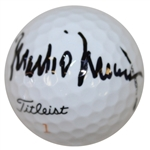 Mark OMeara Signed Masters Logo Golf Ball JSA ALOA