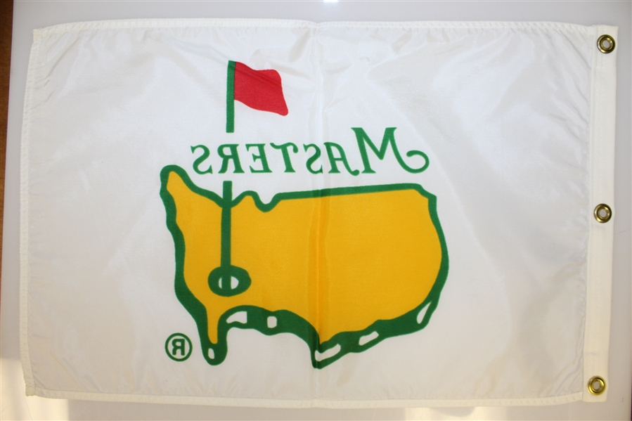 Classic Undated White/Yellow Masters Screen Flag - 1993-1996