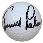 "Arnold Palmer Signed ""Older"" Masters Logo Golf Ball JSA ALOA"