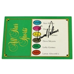 Arnold Palmer Signed Trivial Pursuit Card with Arnold Palmer Answer! JSA ALOA