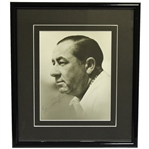 Walter Hagen Signed 8x10 B&W Photo Sourced from Hagen Personal Collection FULL JSA #Z69220
