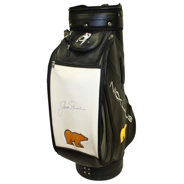 Jack Nicklaus Signed 'Nicklaus Golden Bear' Full Size Golf Bag JSA ALOA