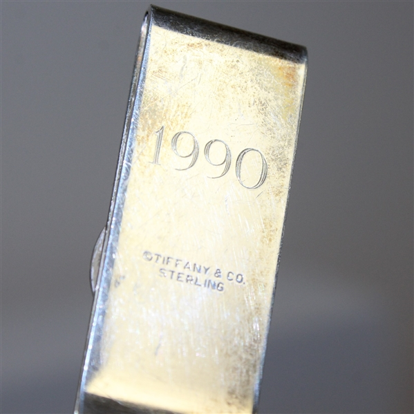 1990 Nissan Open at Riviera Country Club Tiffany & Co. Sterling Silver Money Clip