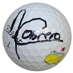 Angel Cabrera Signed Masters Logo Golf Ball FULL JSA #Z17420