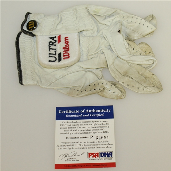 Sam Snead Signed 1996 Legends of Golf Tournament Used Glove PSA/DNA #P34681