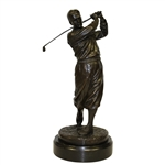 Bobby Jones Bronze Statue by Ron Tunison - Stands Over a Foot Tall - 13.5lbs!
