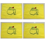 2006, 2008, 2009, & 2010 Masters Tournament Embroidered Flags