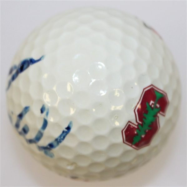 Tiger Woods Signed Stanford Logo Golf Ball (Match Used?) - Signed in College - RARE - FULL JSA #Z69217