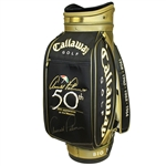 Arnold Palmer Signed 50th Appearance at The Masters Commemorative Golf Bag JSA ALOA
