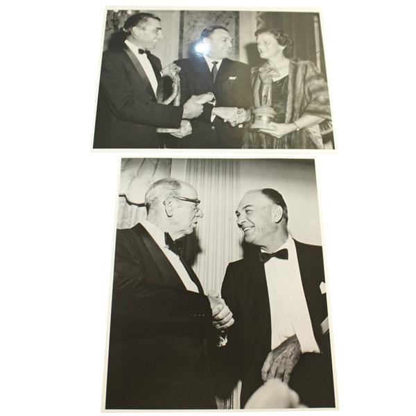 Ben Hogan's Personal Photos - Shaking Hands with Award Winners & Shaking Hand
