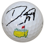 Danny Willett Signed Masters Logo Golf Ball - Seldom Seen JSA #T69608