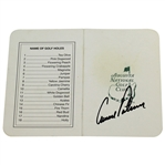 Arnold Palmer Signed Augusta National Golf Club Scorecard JSA #A32230