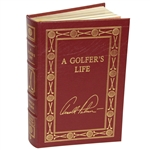 Arnold Palmer Signed Collectors Ltd Ed. Leather Bound A Golfers Life Book JSA ALOA