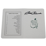 Sam Snead Signed Augusta National Golf Club Scorecard JSA ALOA