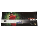 Tiger Woods Signed 2008 Ltd Ed Range Driven Card UDA