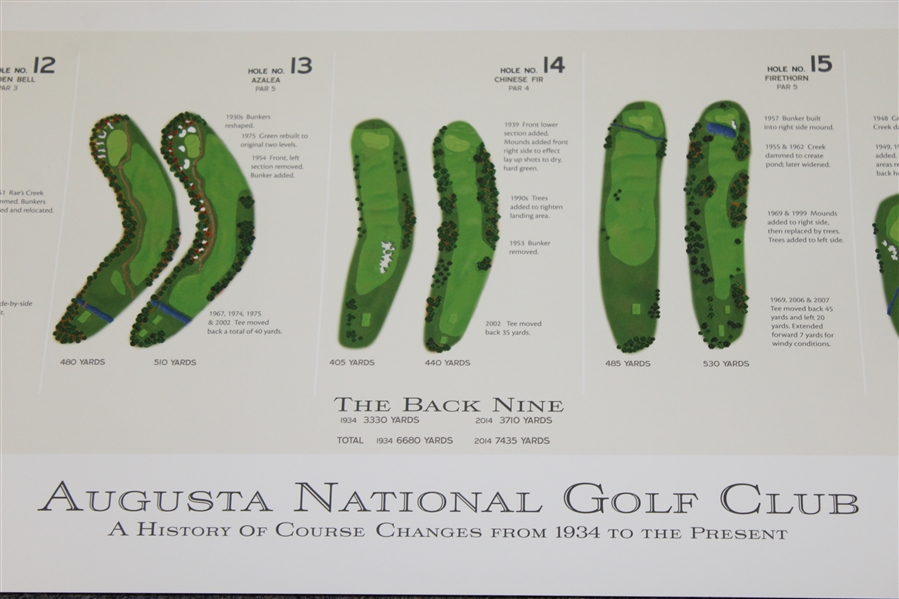 Visual History of Augusta National Golf Club - Hole-by-Hole Changes Over the Years