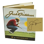 Jack Nicklaus Signed Memories & Mementos Golden Bear Book JSA ALOA