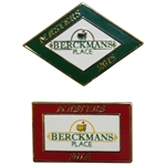 2014 & 2015 Masters Tournament Berckmans Place Pins