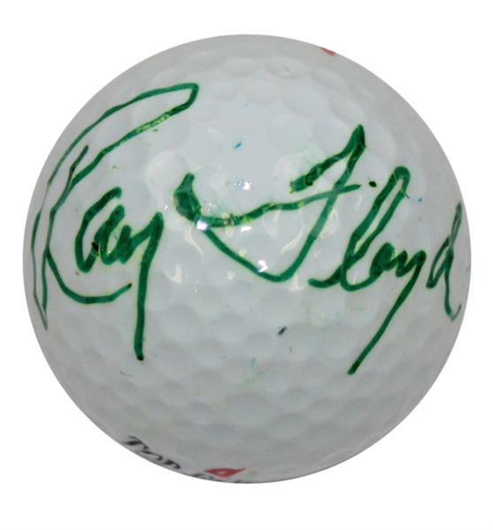 Ray Floyd Signed Top-Flight Golf Ball JSA ALOA