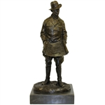 A.W. Tillinghast Bronze/Marble Statue by Ron Tunison - Stands Over a Foot Tall - 17lbs!