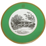 Augusta National Clubhouse Wedgwood Bone China Ltd Ed Plate #77 - Scarce