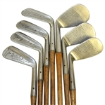 1920 George Nicoll Precision Irons owned by David Scott Chisholm - Full Set
