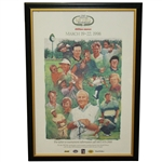 Arnold Palmer Signed 20th Anniversary Bay Hill Invitational Poster - Framed JSA FULL #Z54787