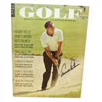 Arnold Palmer Signed October 1965 Golf Magazine JSA #Q49265