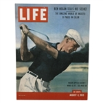 "Reproduced Ben Hogan 1955 LIFE Magazine Cover OVERSIZE Display Format - 30"" x 40"""