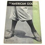 Ben Hogans Personal Copy of The American Golfer - September 1930