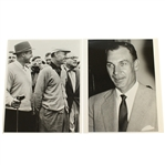 Ben Hogans Personal Photos - Next to Sam Snead & Looking Over