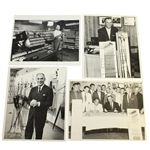 Ben Hogans Personal Photos - Hogan Company Candid Shots with Clubs