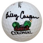 Billy Casper Signed Colonial Logo Golf Ball PSA/DNA #Z63780