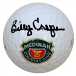 Billy Casper Signed Medinah Country Club Logo Golf Ball JSA #M49758