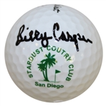 Billy Casper Signed Stardust Country Club Logo Golf Ball JSA #M49764