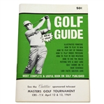 1969 Masters Tournament Cadillac Sponsored Telecast Golf Guide Booklet