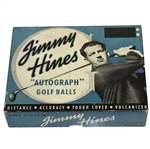 "Jimmy Hines ""Autograph"" Golf Balls Box with One Golf Ball"