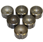 Set of Six Mesh Golf Ball Molds - Found in Worthington Golf Ball Factory