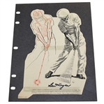Ben Hogan & Sam Snead Signed Opposite Side Magazine Pages JSA ALOA