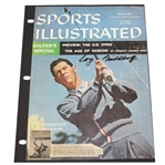 Cary Middlecoff Signed Sports Illustrated Magazine Cover Page JSA ALOA