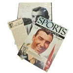 Ed Furgol Signed S.I. Cover Page, B&W Photo, and Magazine Article JSA ALOA