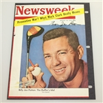 Billy Jo Patton The Duffers Idol Signed August 20, 1954 Newsweek Magazine Cover JSA ALOA